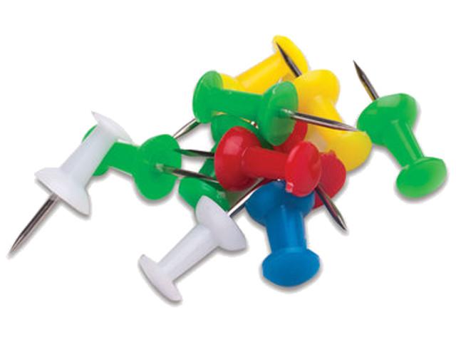 Силовые кнопки-гвоздики Staff 50шт Color 224770