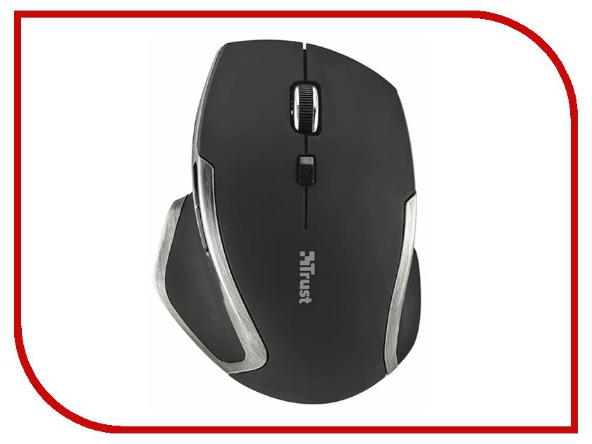 Мышь Trust Evo Advanced Wireless Compact Laser Mouse Black USB мышь проводная trust centa mini mouse black usb 14656