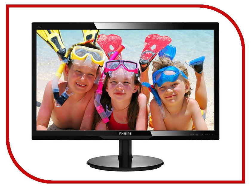 Монитор Philips 246V5LDSB/00 Black монитор 22 philips 221s6lcb 00
