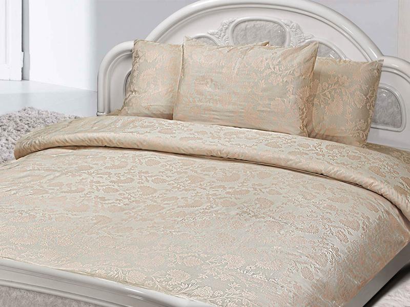 Постельное белье Marize Комплект 1.5 спальный Наволочки 70x70 Жаккард 3956