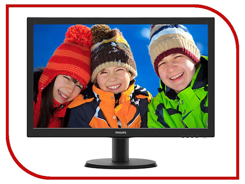 Монитор Philips 243V5LHSB5/00 Black монитор 22 philips 221s6lcb 00