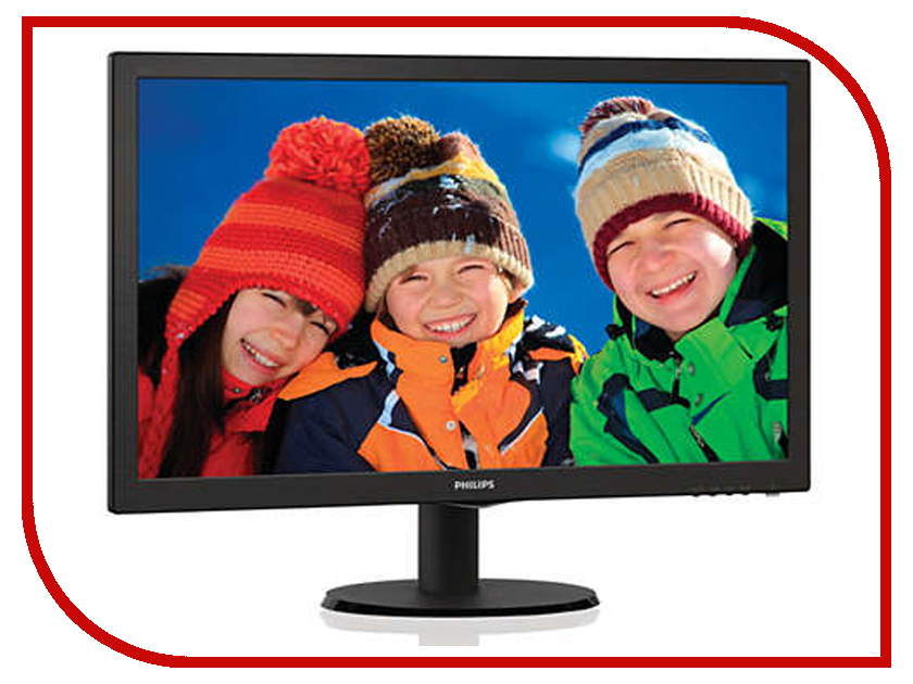 Монитор Philips 243V5LHSB/01 Black