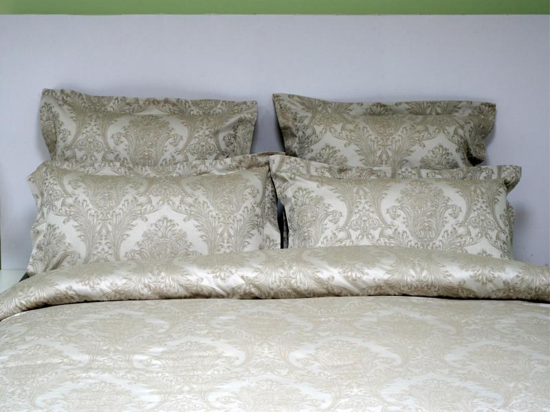 Постельное белье Marize Комплект 1.5 спальный Наволочки 70x70 Жаккард 4124 стоимость