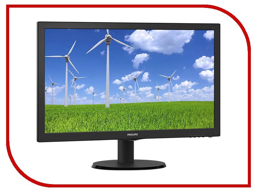 Монитор Philips 223S5LSB/00 Black 21 5 221b7qpjkeb 00 black с поворотом экрана