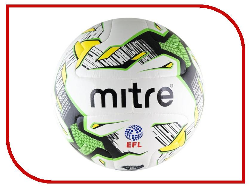 Мяч Mitre Delta Match №5 BB 1100WHK накидка тренировочная mitre цвет оранжевый размер 122