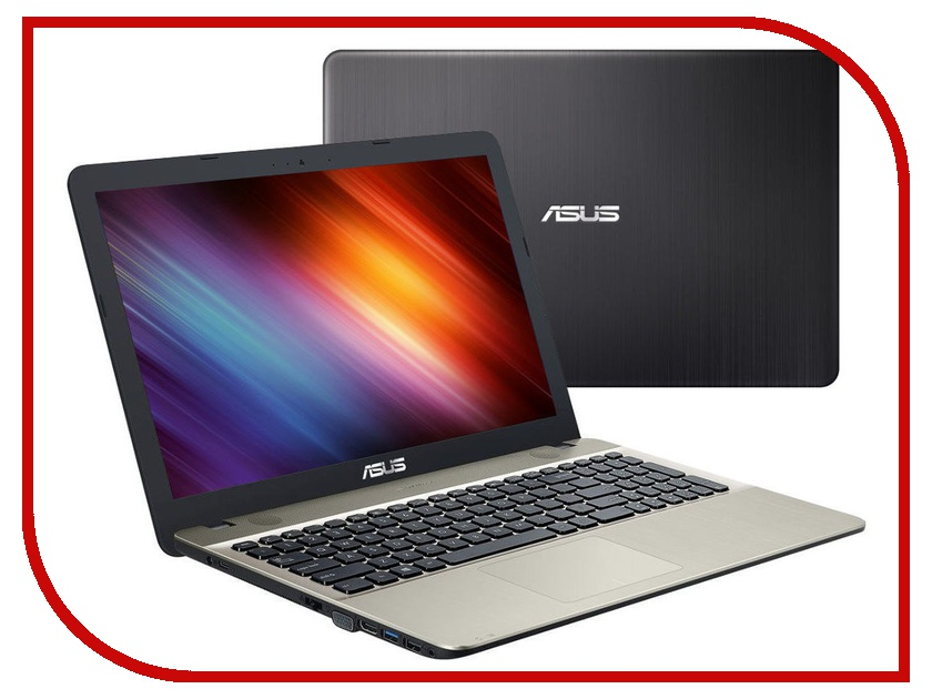 Ноутбук ASUS X541NA-GQ579 90NB0E81-M10800 (Intel Celeron N3450 . GHz/4096Mb/256Gb SSD/No ODD/ HD Graphics/Wi-Fi/Cam/15./1366x768/Endless)