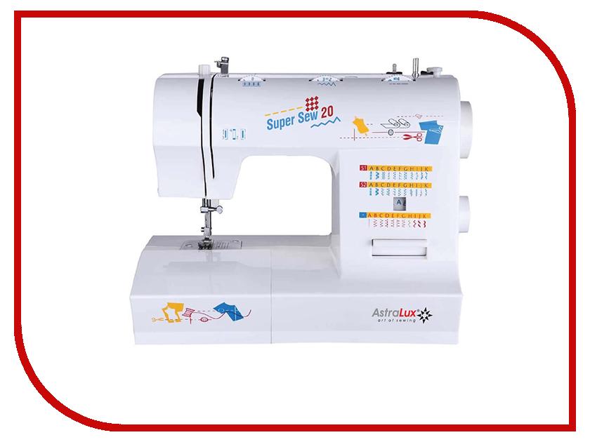 Швейная машинка Astralux Super Sew 20 швейная машинка astralux starlet ii
