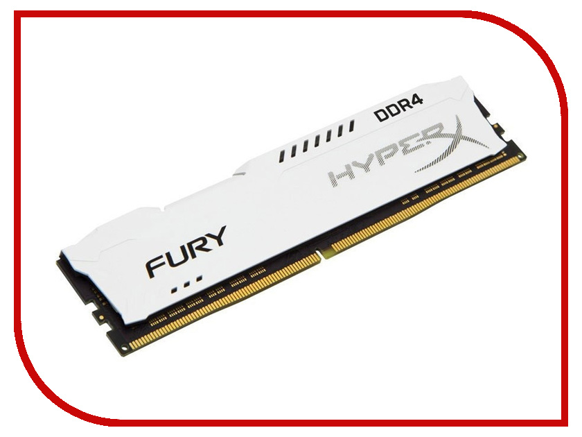Модуль памяти Kingston HyperX Fury White DDR4 DIMM 3466MHz PC-27700 CL19 - 16Gb HX434C19FW/16 50pcs epcs16n sop 16