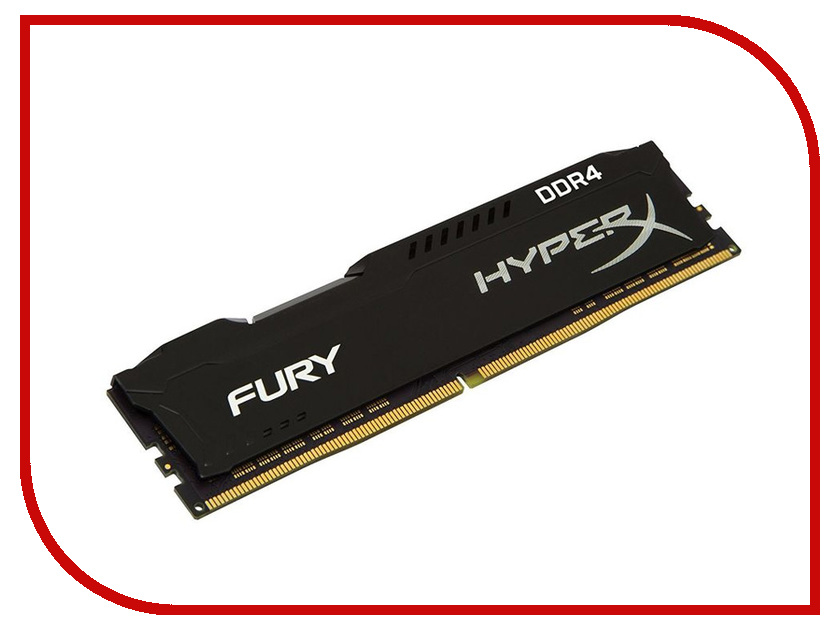 Модуль памяти Kingston HyperX Fury Black DDR4 DIMM 3200MHz PC-25600 CL18 - 16Gb HX432C18FB/16 50pcs epcs16n sop 16