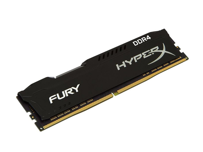 Модуль памяти Kingston HyperX Fury Black DDR4 DIMM 3200MHz PC-25600 CL18 - 16Gb HX432C18FB/16