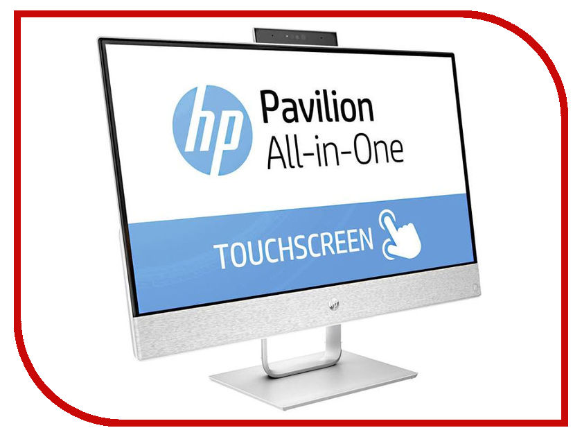 Моноблок HP Pavilion 24-x010ur 2MJ61EA (Intel Core i7-7700T 2.9 GHz/12288Mb/1000Gb + 128Gb SSD/Intel HD Graphics/24/1920x1080/Touchscreen/Windows 10 64-bit) sheli laptop motherboard for hp pavilion dv6 7000 682169 001 48 4st10 021 ddr3 gt630m 1gb non integrated graphics card