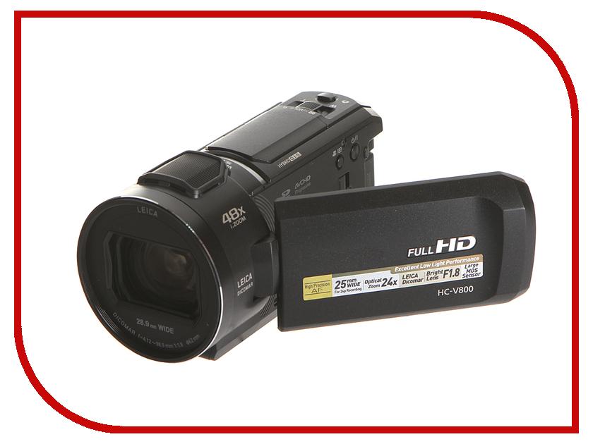 Видеокамера Panasonic HC-V800 mini dv dvr видеокамера скрытая видеокамера webcam recorder новый
