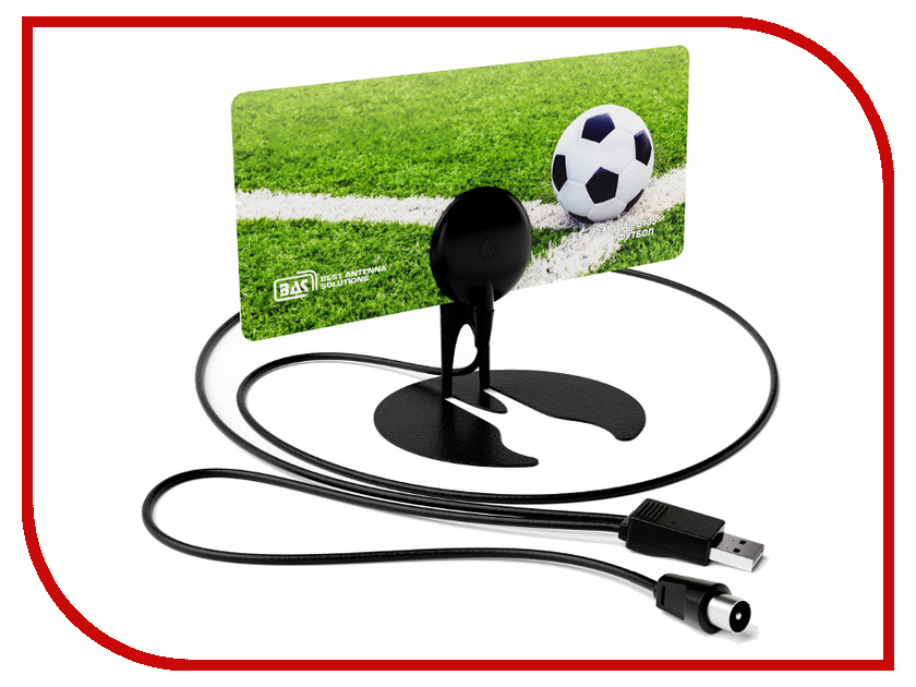 Антенна РЭМО BAS-5135-USB - Футбол - активная рэмо парус dx usb