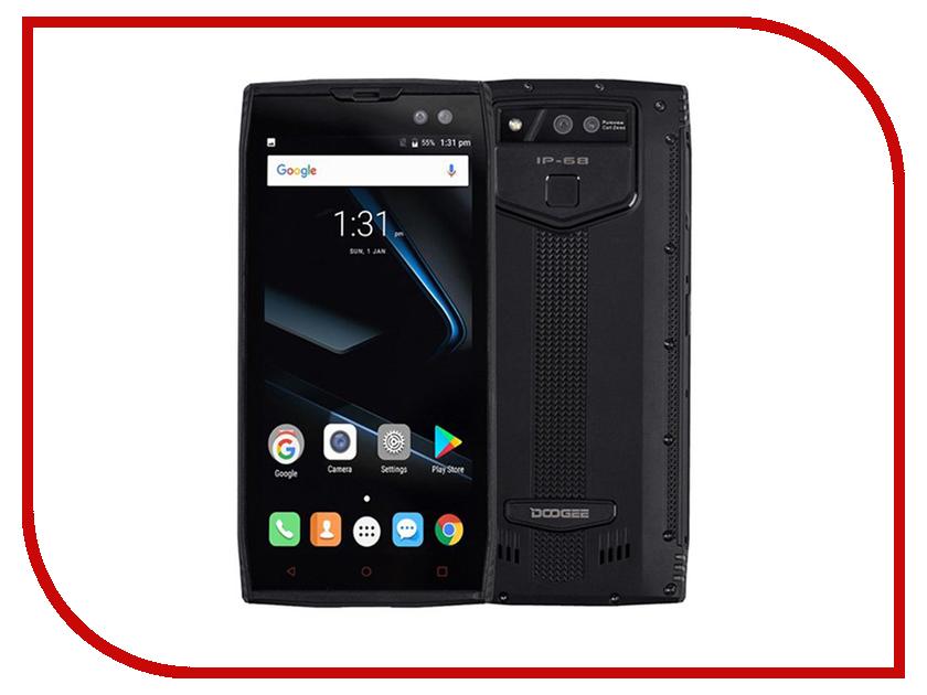 Сотовый телефон DOOGEE S50 6Gb RAM 128Gb Black оригинальный huawei mate 9 pro 6gb ram 128gb rom 5 5 4g lte мобильный телефон kirin 960 android 7 0 2560x1440