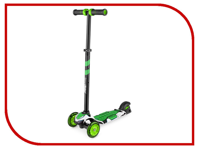 Самокат Small Rider Turbo Green