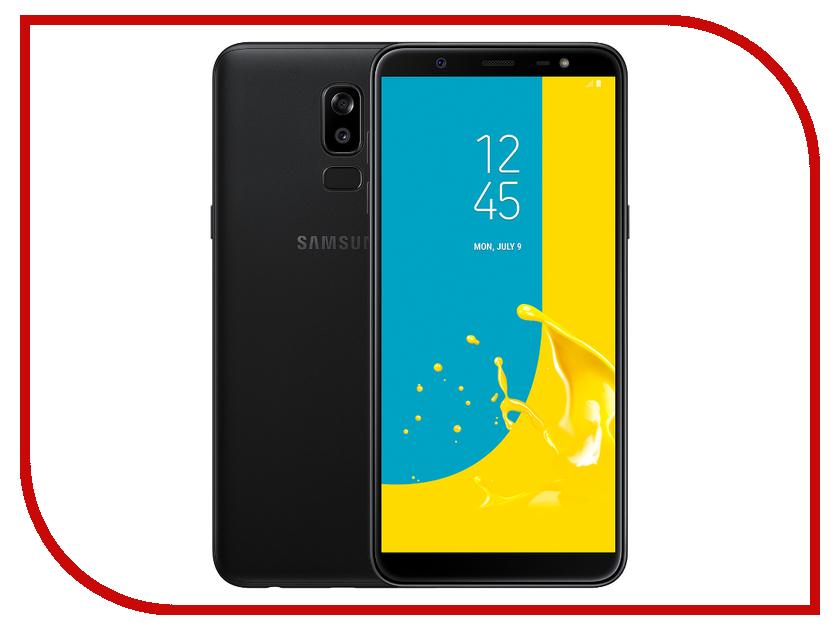 Сотовый телефон Samsung Galaxy J8 (2018) 32GB Black сотовый телефон samsung galaxy j8 2018 32gb gray