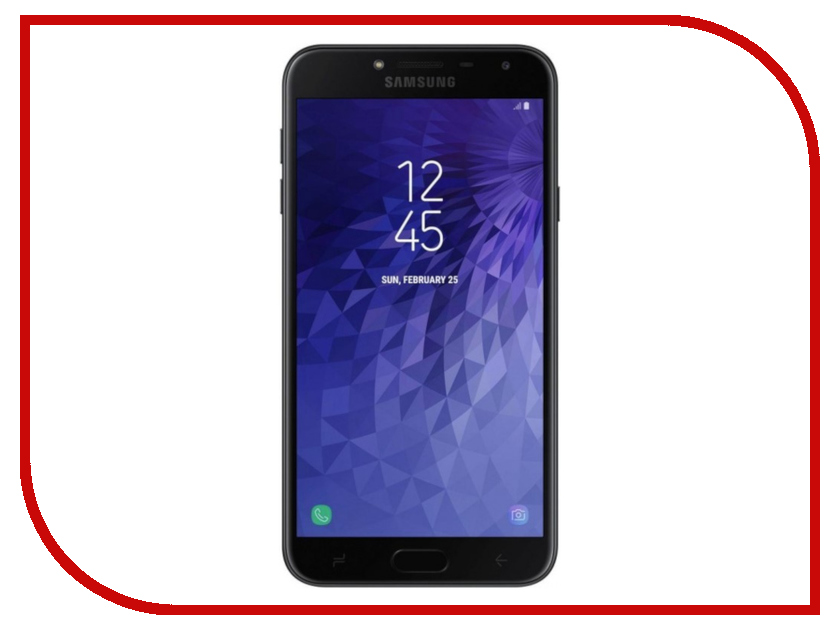 Сотовый телефон Samsung SM-J400F Galaxy J4 2018 32Gb Black сотовый телефон samsung sm g935f galaxy s7 edge 32gb silver