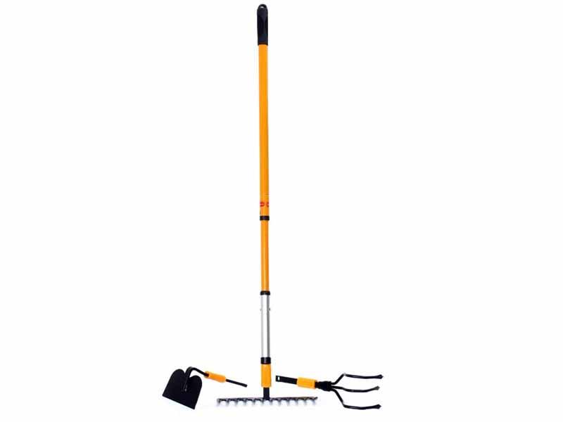 Садовый инструмент Многофункциональная ручка Торнадо с 3-мя насадками