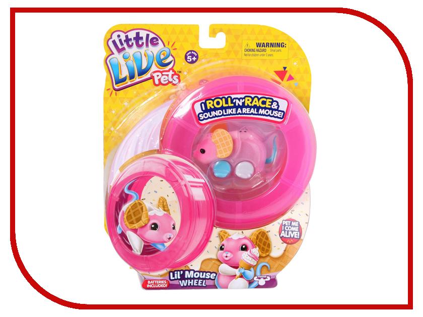 Игрушка Moose Мышка Pink 28194