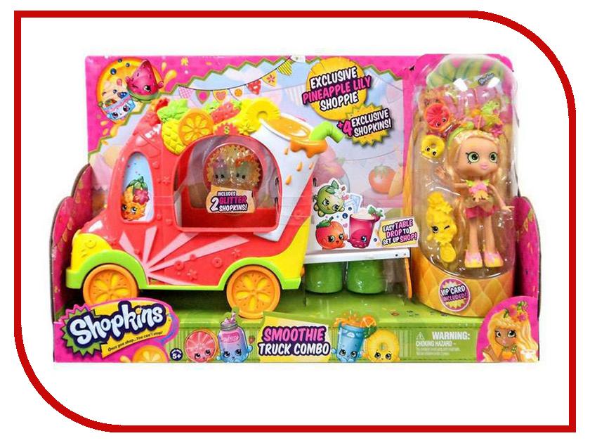Игра Moose Смузи-грузовичок и Тропическая Лили 56332 кукла moose shopkins смузи грузовичок и тропическая лили 56332
