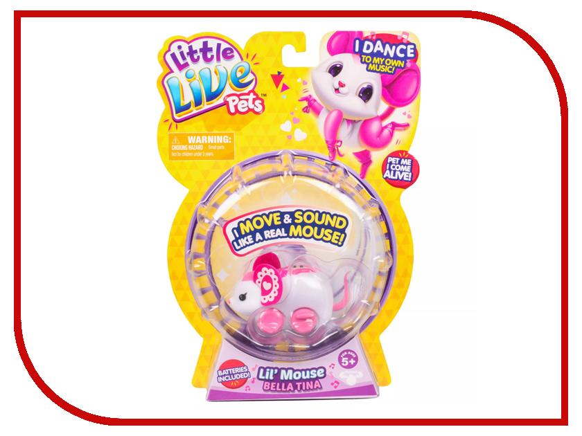 Игрушка Moose Little Live Pets Мышка 28249/28168
