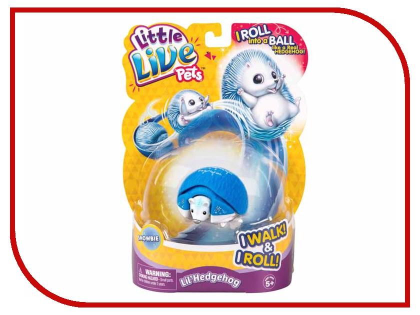 Игрушка Moose Little Live Pets Ежик 28334 говорящая птичка lucky lee little live pets moose
