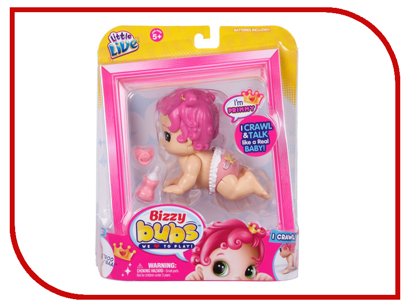 Игрушка MooseBizzy Bubs Кукла Примми 28472 игрушка moose pikmi pops surprise 75130