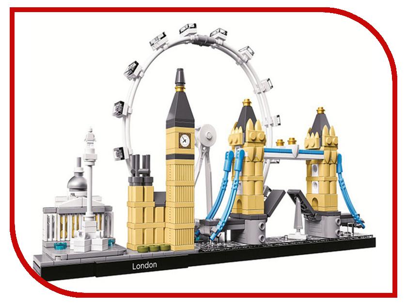 Конструктор Bela Building Лондон 10678 конструктор bela автомобиль для перевозки заключённых 60043 10418