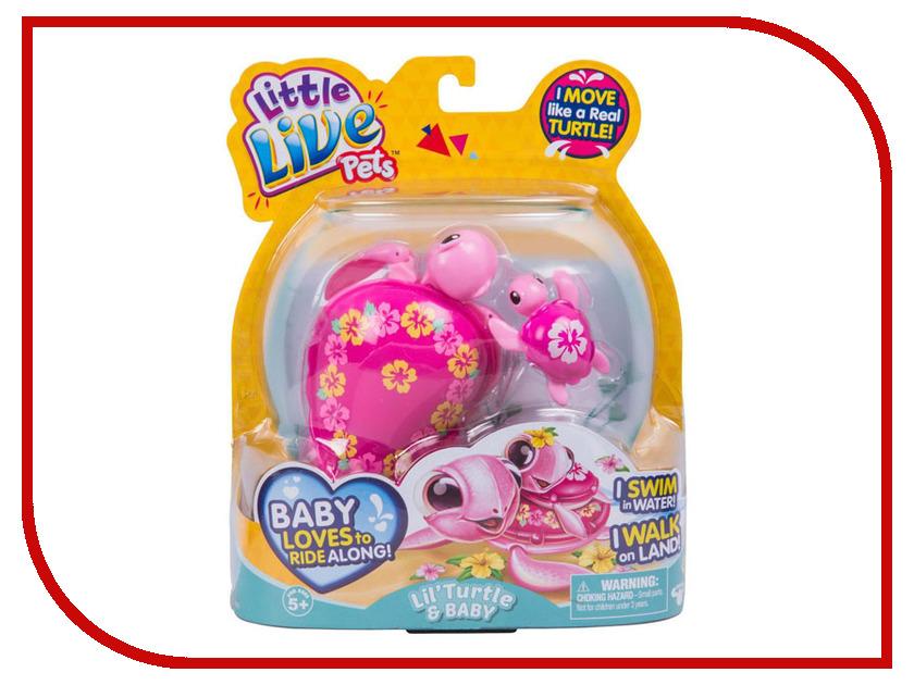Игрушка Moose Черепашка с малышом Pink 28415/28413