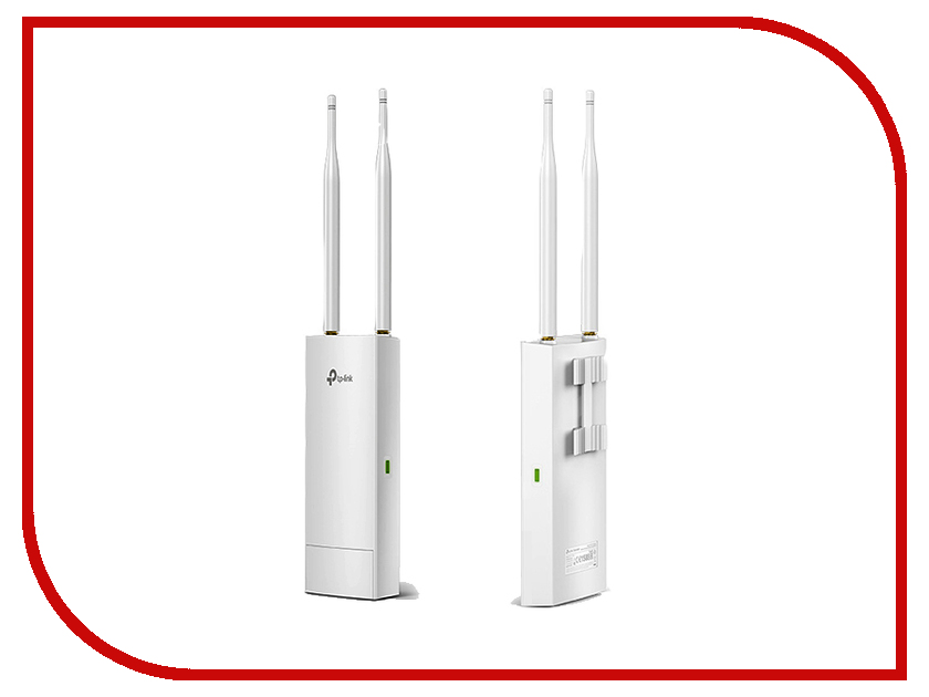 Точка доступа TP-LINK EAP110-Outdoor tp link tl wn851n 300m беспроводная pci карта