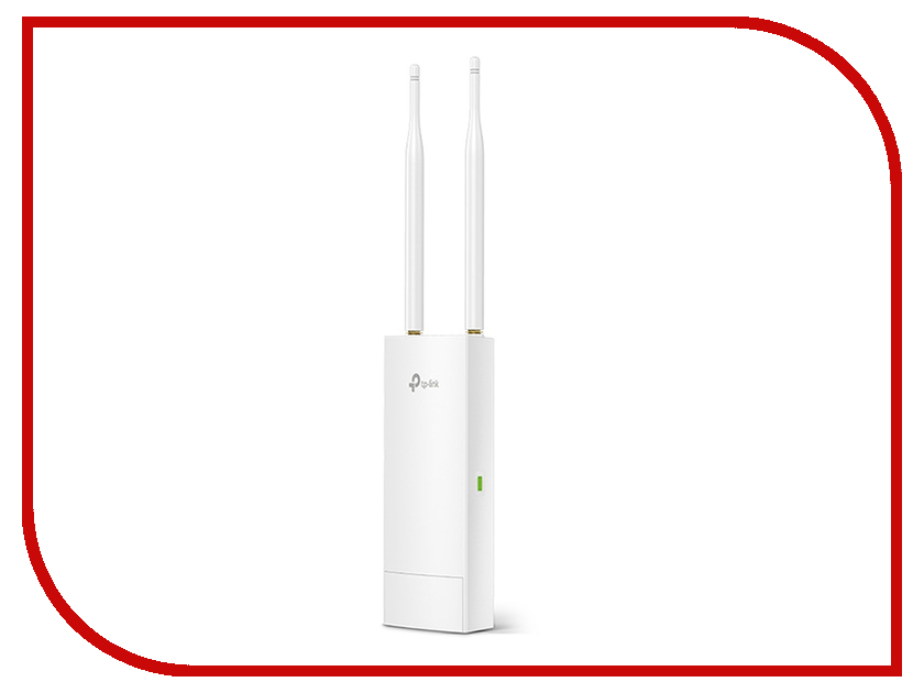 Точка доступа TP-LINK CAP300-Outdoor беспроводная точка доступа tp link cap300 outdoor 300mbps wireless n outdoor access point qualcomm 300mbps at 2 4ghz 802 11b g n 1 10 100mbps lan 802 3af poe