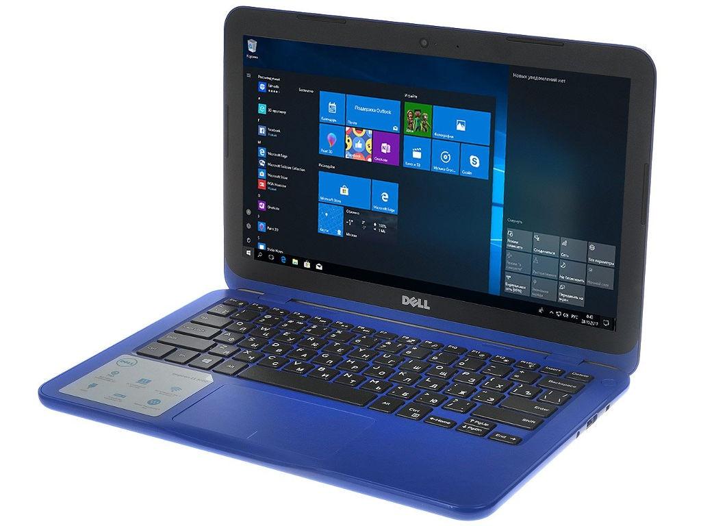 Ноутбук Dell Inspiron 3180 3180-1955 (AMD A9-9420e 1.7 GHz/4096Mb/128Gb SSD/No ODD/AMD Radeon R5/Wi-Fi/Bluetooth/Cam/11.6/1366x768/Windows 10 64-bit)