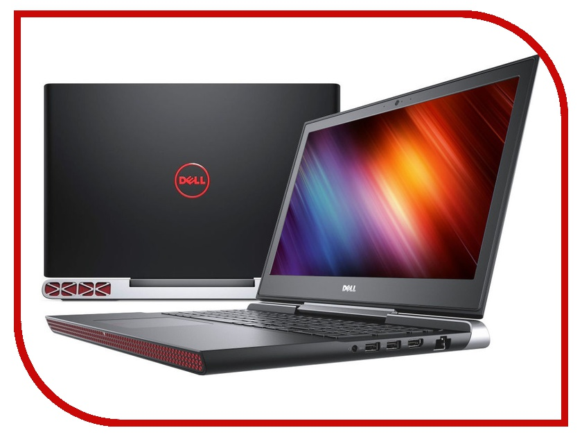Ноутбук Dell Inspiron 7567 7567-2400 (Intel Core i7-7700HQ 2.8 GHz/16384Mb/1000Gb + 128Gb SSD/nVidia GeForce GTX 1050Ti 4096Mb/Wi-Fi/Bluetooth/Cam/15.6/1920x1080/Linux) dell inspiron 3558