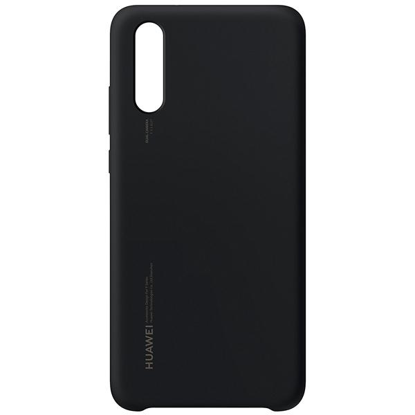 Аксессуар Чехол для Huawei P20 Silicone Black 51992365