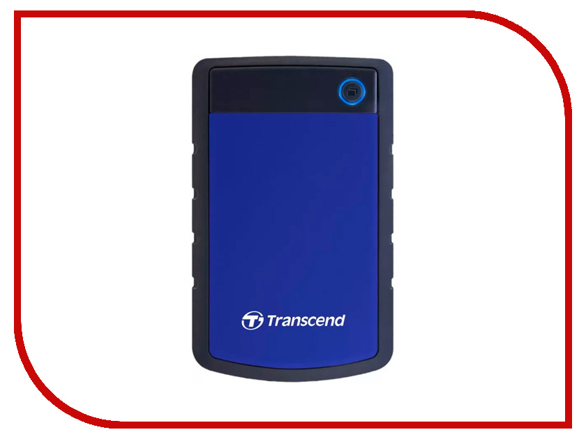Жесткий диск Transcend StoreJet 25H3 2Tb Blue TS2TSJ25H3B цена