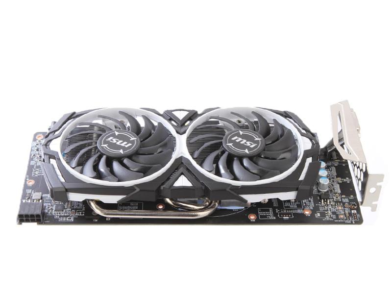 Видеокарта MSI Radeon RX 580 1366Mhz PCI-E 3.0 8192Mb 8000Mhz 256 bit DVI HDCP MINER 8G