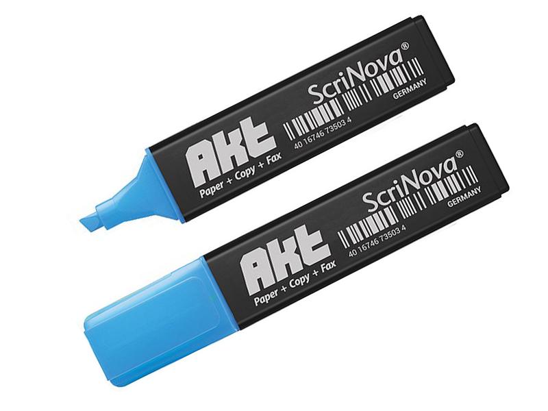 Маркер Scrinova Akt 1-5mm Blue 735003