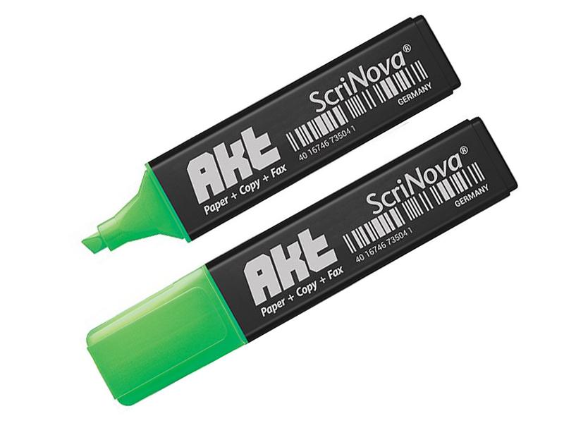 Маркер Scrinova Akt 1-5mm Green 735004
