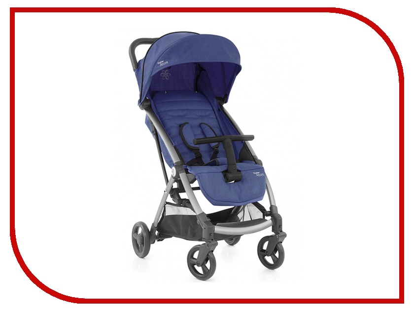Коляска BabyStyle Oyster Atom Oxford Blue OATOXBL babystyle