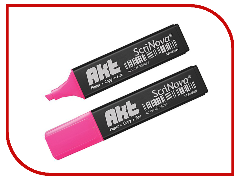 Маркер Scrinova Akt 1-5mm Pink 735009 akteo akt 000100 akteo