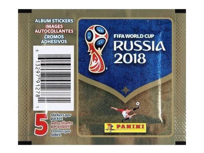 Набор для творчества Наклейки Panini Чемпионат Мира По Футболу FIFA 2018 альбом для наклеек чемпионат мира по футболу fifa 2018 c наклейками