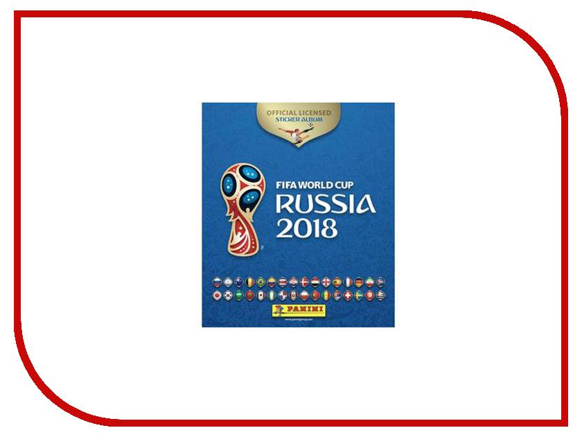 Альбом с 15 наклейками Panini Чемпионат Мира По Футболу FIFA 2018 panini поло