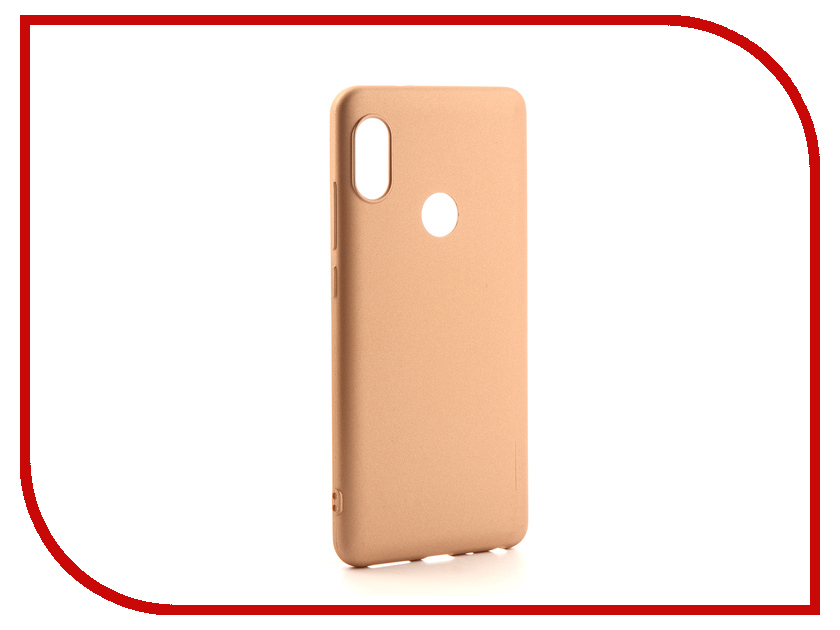 Аксессуар Чехол для Xiaomi Redmi Note 5 / 5 Pro X-Level Guardian Series Gold 2828-131 аксессуар чехол для xiaomi redmi mi a1 mi 5x x level guardian series black 2828 070
