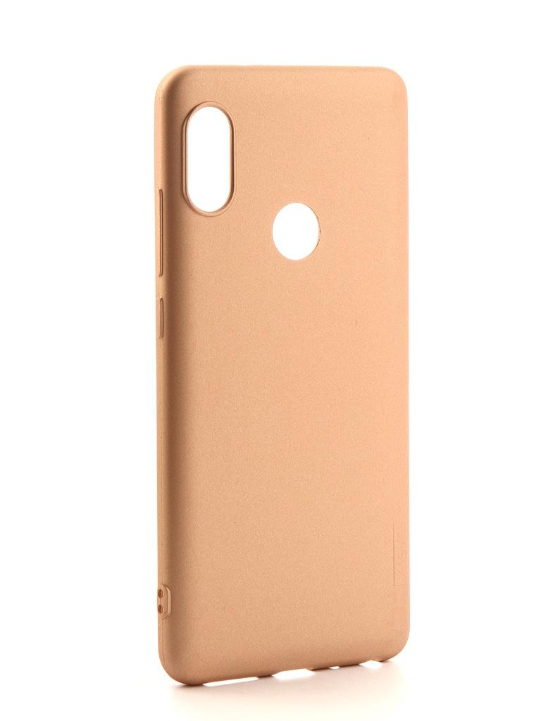 Аксессуар Чехол X-Level для Xiaomi Redmi Note 5 / 5 Pro Guardian Series Gold 2828-131 аксессуар чехол x level для xiaomi mi max 3 guardian series black 2828 176