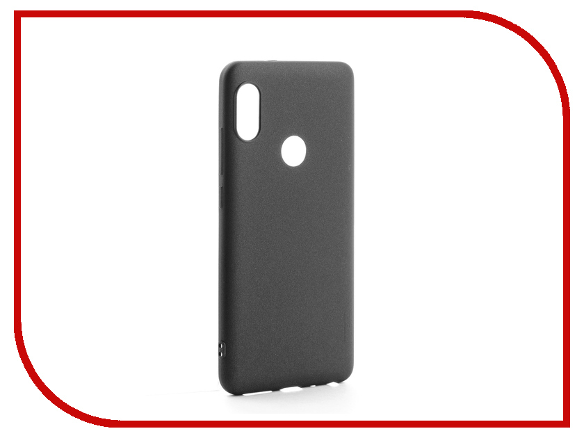 Аксессуар Чехол для Xiaomi Redmi Note 5 / 5 Pro X-Level Guardian Series Black 2828-132 аксессуар чехол для xiaomi redmi mi a1 mi 5x x level guardian series black 2828 070