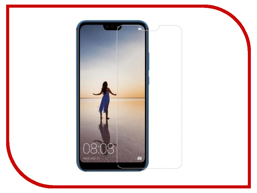 Аксессуар Защитное стекло для Huawei P20 Lite Krutoff 0.26mm 22140 huawei p8 lite