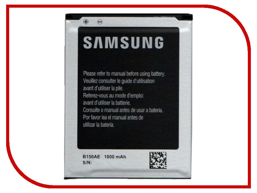 Аккумулятор Krutoff для Samsung Galaxy Core i8260 / Galaxy Star Advance G350E EB-B150AE 05176 аксессуар защитное стекло samsung galaxy core 2 sm g355 krutoff 0 26mm 21941