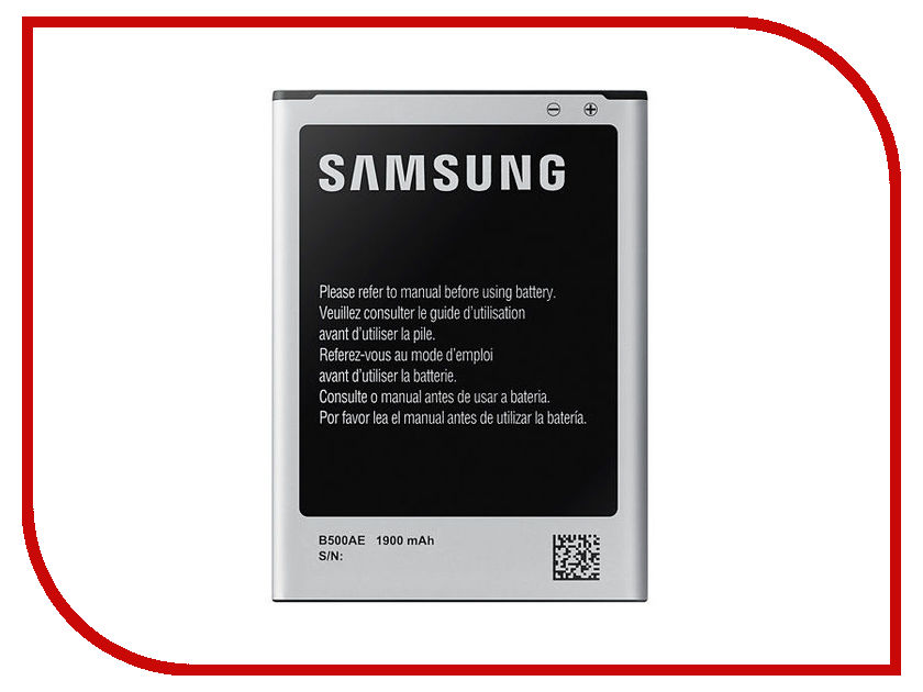 Аккумулятор Krutoff для Samsung Galaxy S4 Mini i9190/i9192/i9195/i9198 EB-B500AE 05173