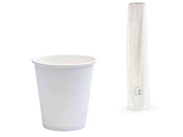 Одноразовые стаканы Формация 250ml 75шт White HB80-280-0000 / 603866
