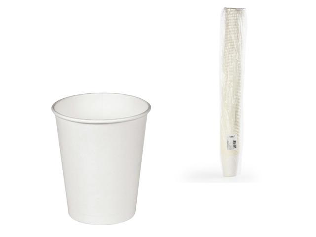 Одноразовые стаканы Формация 165ml 100шт White HB70-195-0000 / 603865